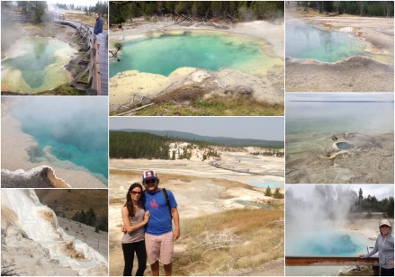 Hot springs Collage