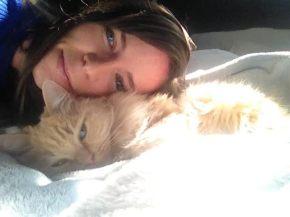 My baby (zoe) and me